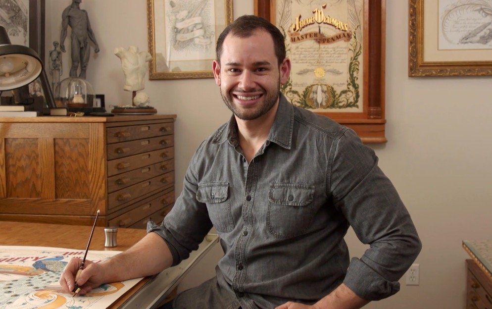 104: The Murmurs of Your Heart, with Jake Weidmann, Artist & Master Penman